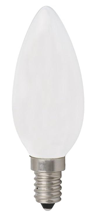 10x Bombilla de filamento LED greenandco® IRC 90+ E14 opaca 3W (corresponde a 28W) 300lm 2700K (blanco cálido) 360° 230V AC vidrio, sin parpadeo, ...