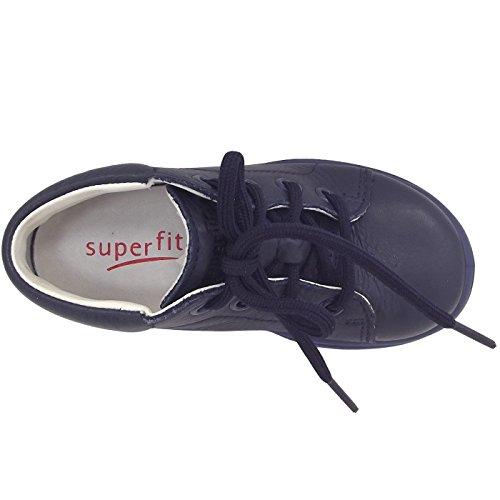 Superfit Mel Kinder Lauflernschuhe aus Glattleder in blau Größe 23 Blau (Ocean)