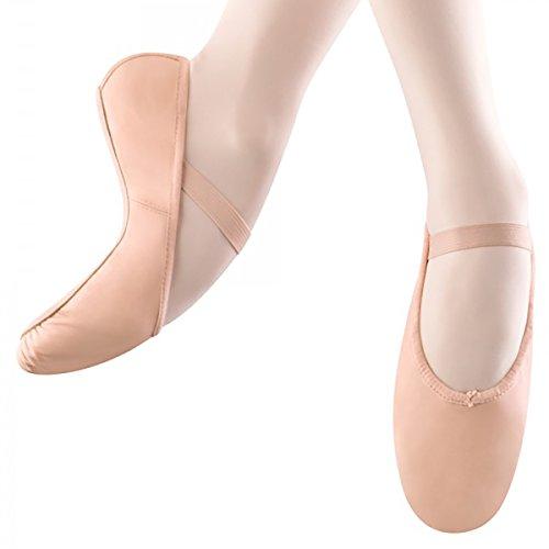 BLOCH Erwachsene Arise, Ballettschläppchen Leder, Chromleder Sohle. Haut (Lachs) Haut (Lachs) 36.5 EU