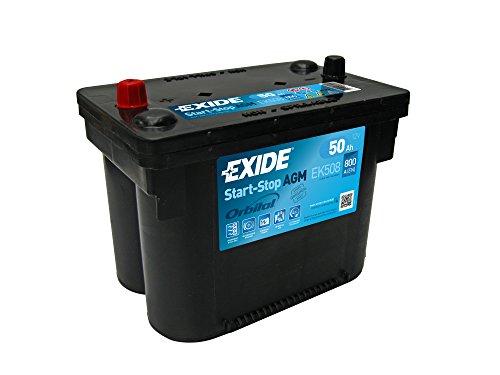 Exide EK508 AGM Car Battery 50Ah: