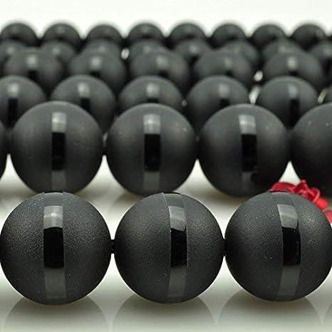100 schwarze runde Glasperlen zur Auswahl 8 mm,12 mm 6 mm