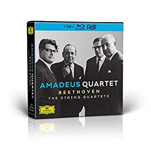 Beethoven: The String Quartets [7 CD + Blu-ray Audio]