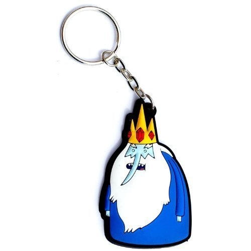 Hot Properties Adventure Time Ice King 3-d Rubber Keychain