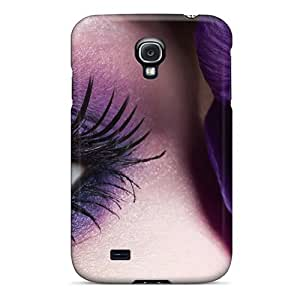Defender Case With Nice Appearance (beautiful Eye Close Up) For Galaxy S4