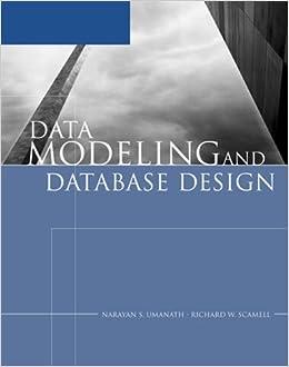 Data Modeling and Database Design