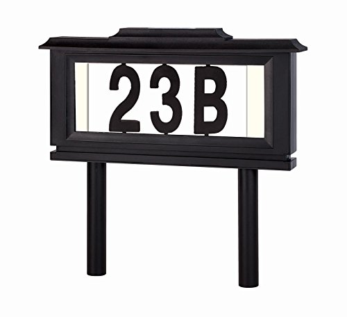 Solar Light For Address Plaque
