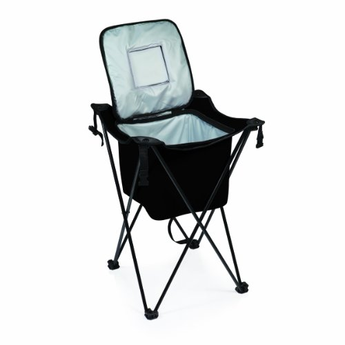Picnic Time Sidekick Portable Cooler with Legs, Black