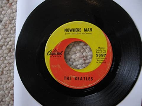 Nowhere Man / What Goes On: The Beatles 45rpm Single Record (Beatles 45rpm)
