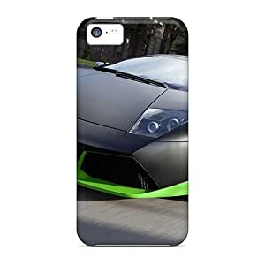 Case888cover Scratch-free Phone Cases For Iphone 5c- Retail Packaging - Lamborgini