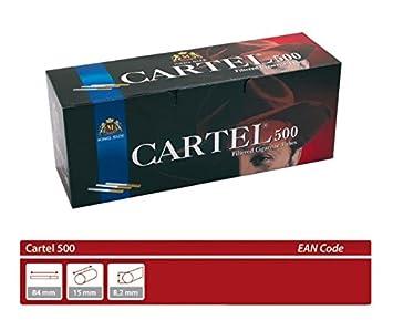 20x500 10000 Zigarettenhülsen Zigaretten Hülsen Filterhülsen Tuben DARK HORSE