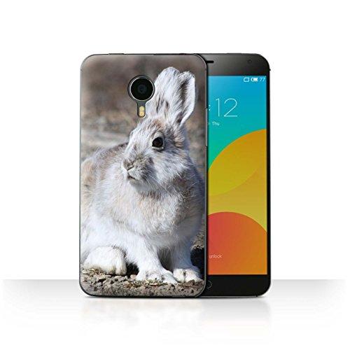 stuff4-phone-case-cover-for-meizu-mx4-white-arctic-hare-design-arctic-animals-collection