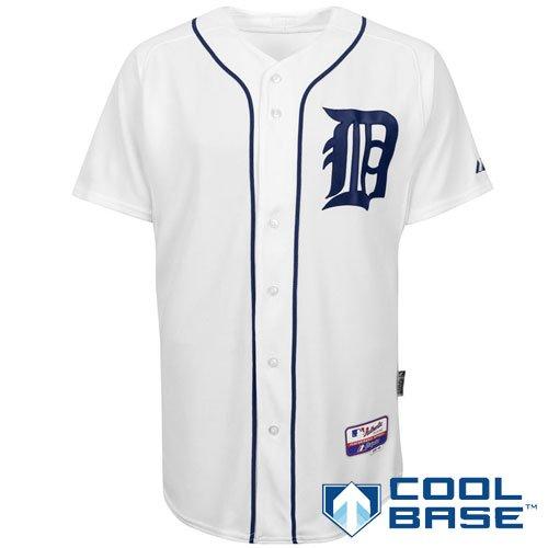 Detroit Tigers Authentic Home Jersey (Detroit Tigers Authentic COOL BASE Home MLB Baseball Jersey Size 44)