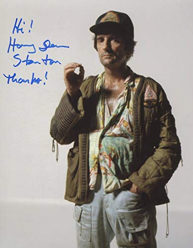 Harry Dean Stanton Signed Alien Autograph 10x8 Photo With COA PJ Deceased
