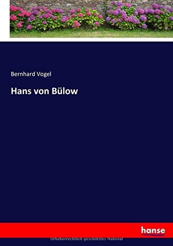 Read Online Hans von Bülow (German Edition) ebook