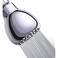 WASSA High Pressure Shower Head - 3″ Anti-clog Anti-leak...