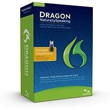 Dragon NaturallySpeaking Premium 12 w/Digital Recorder (Mobile), English (Old Version)
