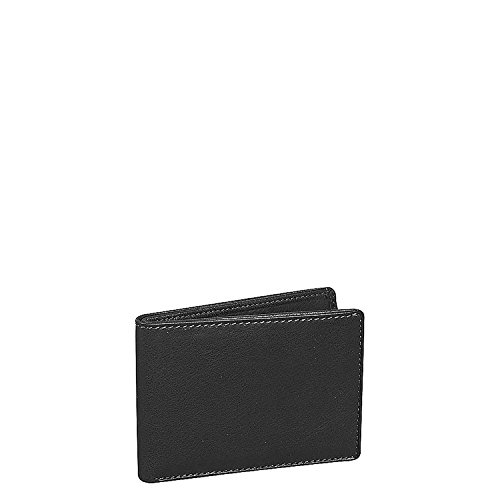 - Cashmere Men's Ultra Mini Thinfold Wallet Color: Black