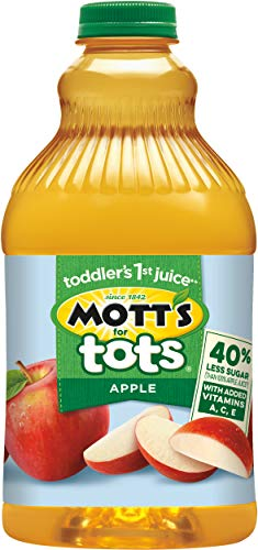 Motts Inc. for Tots 40% Less Sugar Apple Juice, 64 oz
