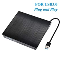 External CD Drive USB 3.0 CD/DVD-RW Drive