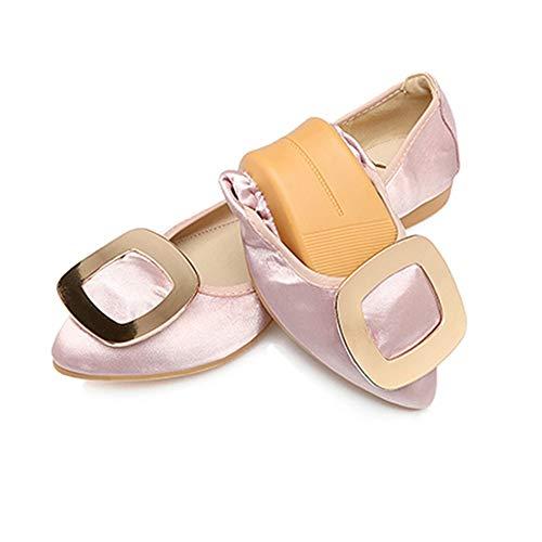 Zapatos Solos de Mujeres Planos Zapatos Ballet de de Acentuados la EU Trabajo 42 Zapatos de Punta de Plegables Suave Zapatos 42 Zapatos FLYRCX Embarazadas Las Baja Boca la UE x6PTqH5w