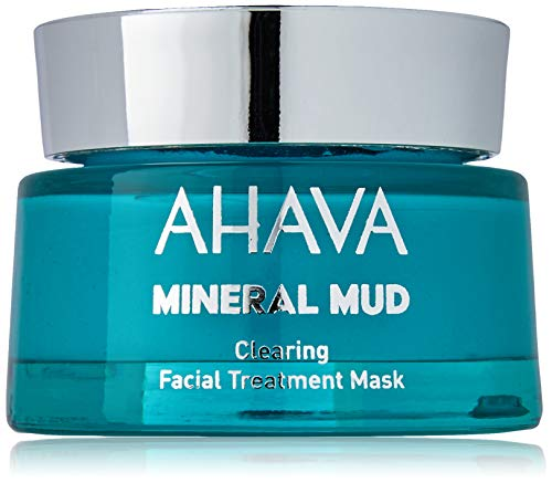 AHAVA Dead Sea Mineral Mud Clearing Facial Treatment Mask, 1.7 fl oz/50ml