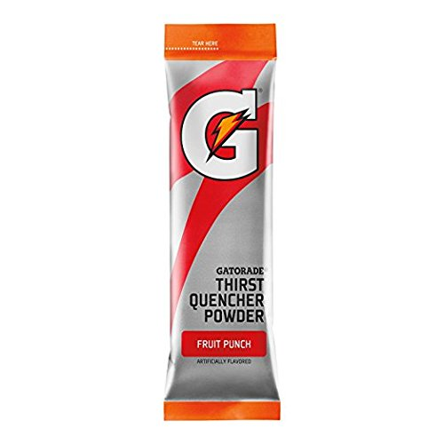 Gatorade Thirst Quencher Powder Sticks, FRUIT PUNCH, 1.23 Ounce Powder Sticks (8)