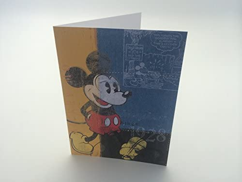 Disney Mickey Mouse Thank You Note Cards Set Of 12 With Envelopes