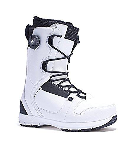 Ride White Snowboard Boots (Ride Men's Triad: Snowboard Boots (White, 9))