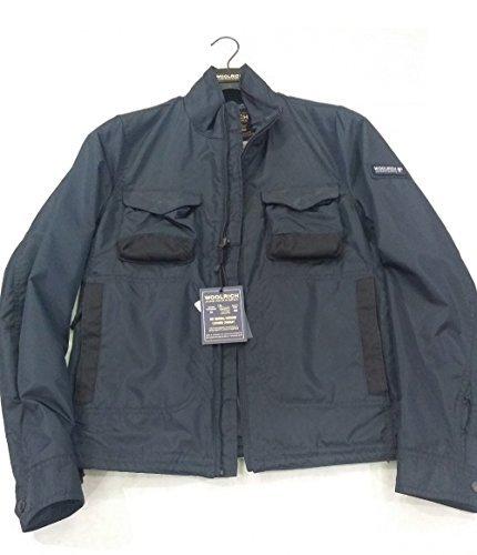 3126 Wocps1743 Estivo Cordura Blu Uomo Giubbino Bering Jacket In Woolrich 5aF4qwq