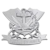 Patriot Accessories Military Auto Emblem (Navy Rescue Swimmer)
