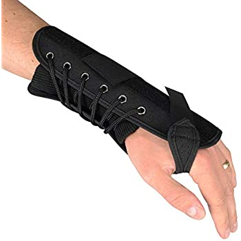 Advanced Ortho Post-Op Lace Up Wrist Brace for after Surgery-M-Left H/&PC-09597