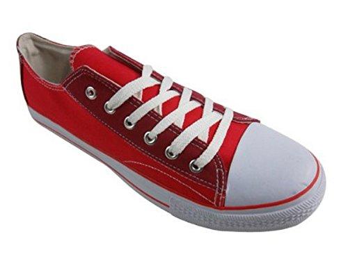 Gola - Náuticos para hombre rojo - Red / White