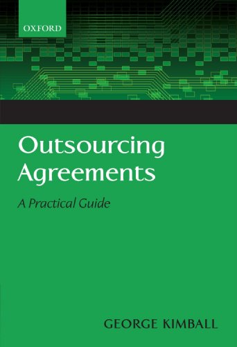 Outsourcing Agreements: A Practical Guide by Brand: Oxford University Press, USA