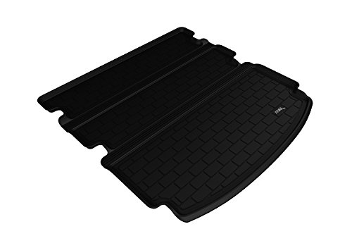3D MAXpider Stowable Custom Fit Cargo Liner for Select Acura MDX Models - Kagu Rubber (Black) - Custom Floor Liners