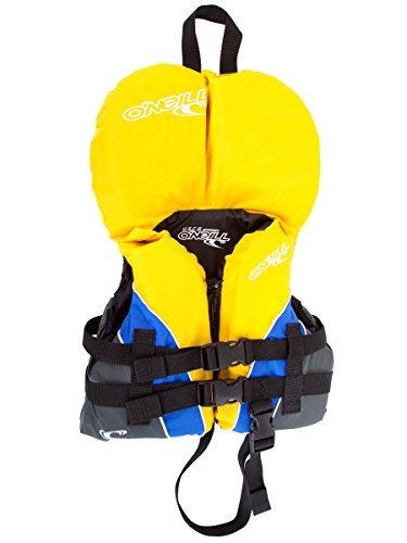 O'Neill Superlite USCG nylon infant life vest Yellow/pacific/coal