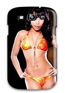 Flexible Tpu Back Case Cover For Galaxy S3 - Miami Heat Cheerleader Basketball Nba