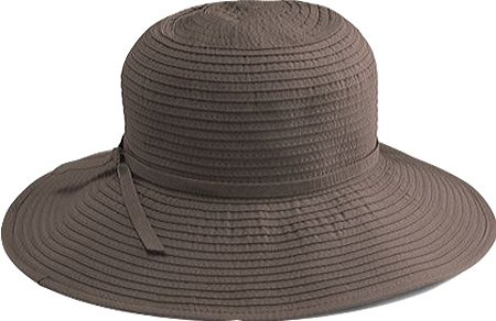 228666be64b San Diego Hat Company Women s Ribbon Medium Brim Floppy - One Size ...