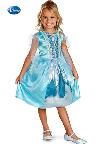 Disguise Disney Cinderella Sparkle Classic Girls Costume, 7-8 -