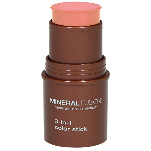 Mineral Fusion 3-in-1 Color Stick, Terra Cotta, .18 Ounce - One Cosmetic Mineral Makeup