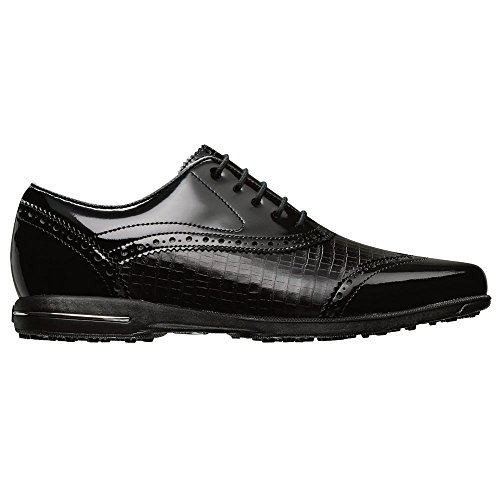 Golf Collection (FootJoy Ladies Tailored Collection Golf Shoes Black 7.5 Medium)
