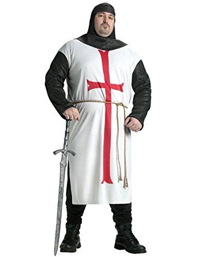 Fun World Men's Templar Knit Plsz Cstm,