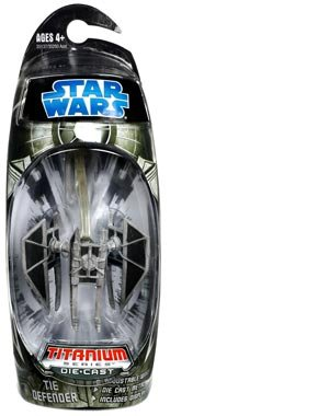 - Star Wars Titanium Series 2008 Diecast Mini Tie Defender
