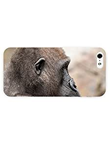 3d Full Wrap Case for iPhone 5/5s Animal Gorilla25