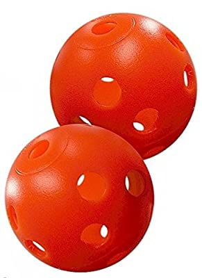 Orange Perforated Practice Golf Balls Available in 12, 24, 60, 120 or 240 count (each sold separately)