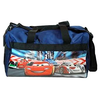 "Disney Cars Summer Travel Kids Travel Duffle Bag , Size Approximately 17"" X 10"" Christmas Gift"