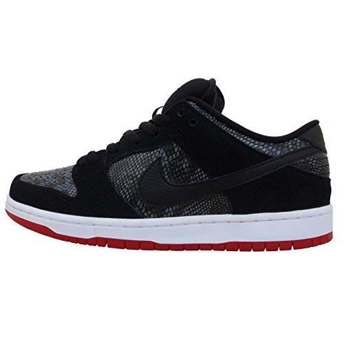 (Nike Dunk Low Premium SB [313170-017] Skateboarding Snake Black/Red )