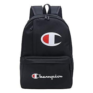 Tasche Laptoptasche Canvasblack ChampionsUcksack Sporttasche Rucksack OnkP80w