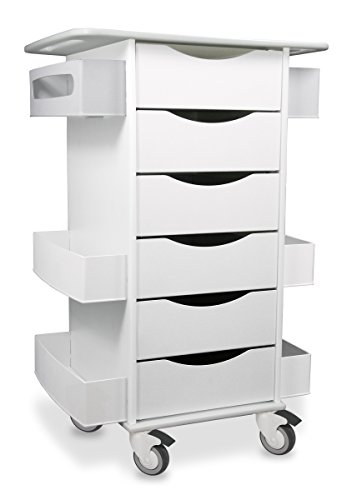 - TrippNT 51351 Core Six Drawer Cart, 23
