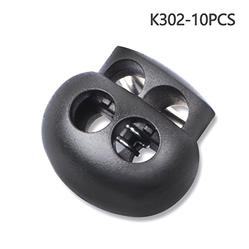 Multi-size Cord Lock End Toggle Spring Stopper Fastener Slider Toggles End (K302 10PCS)