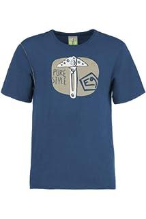 E9 Bug T-Shirt Herren Cobalt-Blue 2019 Kurzarmshirt